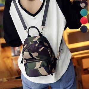Handbags - Camouflage Backpack